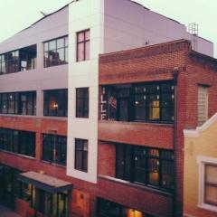 Rankin press lofts exterior