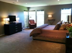 Modern Ranch Bedroom