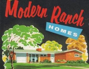 Modern Ranch Homes Circa 1960