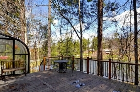 77 West Fox Chase Deck-Lake
